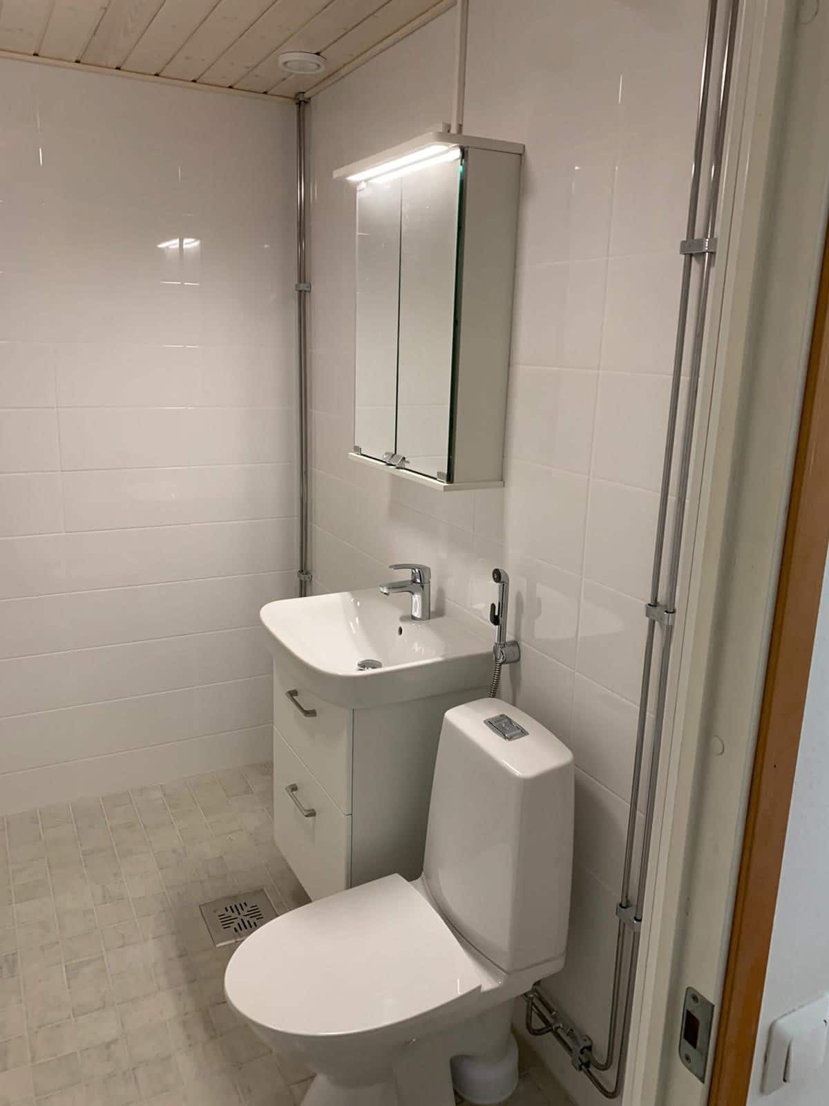 Kylpyhuone remontti